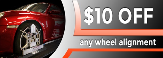 $10 Off a Wheel Alignment